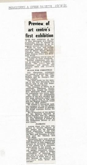 F & H Gazette '61
